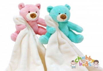 小熊舒適安撫巾