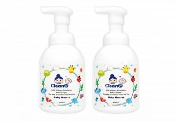 水清淨-寶寶2合1泡泡慕斯 400MLx2