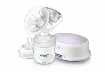 【AVENT】輕乳感PP標準型雙邊電動吸乳器 送貝親蜂巢式防溢乳墊12片