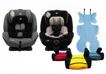 【Joie】 0-7歲雙向兒童安全汽座 買就送 【Vibebe】立體透氣涼墊或汽車座椅增高墊