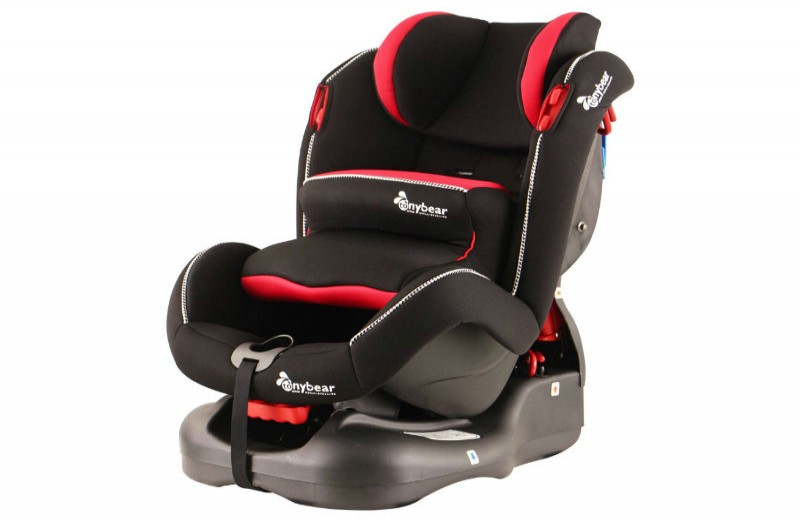 Tonybear 0-7歲鋼骨鐵人嬰幼兒兒童汽車座椅汽座