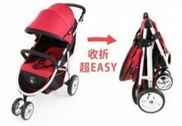 ST321 豪華越野大三輪嬰兒手推車