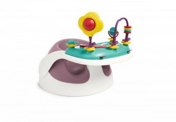 【Mamas&Papas】二合一育成椅v2-乾燥玫瑰(附玩樂盤)