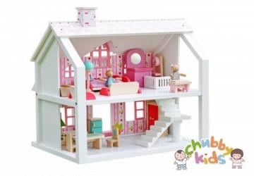 小甜心木製娃娃屋