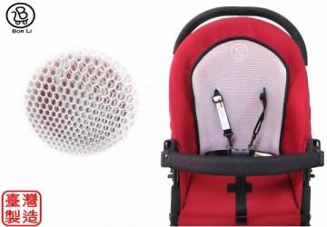 【MIT台灣製】嬰兒車兩用立體蜂巢涼爽透氣墊