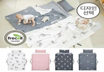 韓國 頂級天絲雙面睡袋 兩面睡墊不同功能 兒童睡袋 幼兒園午睡墊 嬰兒睡墊 防螨抗菌枕芯【4款】
