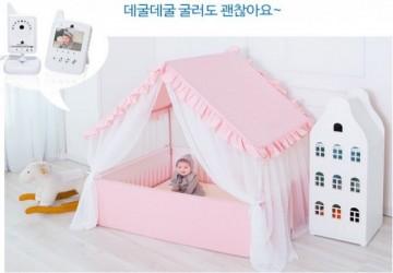 浪漫系列多功能床-粉紅 [3種尺寸,可加價升級大地墊及監視器]