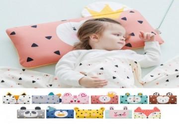 韓國BONITABEBE 3D AIR MESH 高透氣 嬰幼兒成長枕 (3層枕芯+1個枕套)
