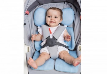 air cozzi 超透氣抗菌天絲坐墊_嬰兒推車枕頭 (寶寶頭頸支撐款)