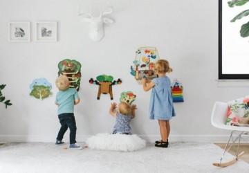 風靡寶寶兒童界 ORIBEL 創意壁貼玩具