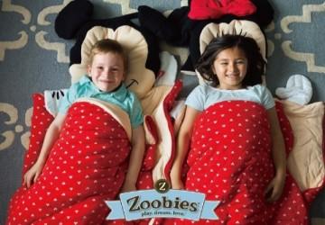 美國ZOOBIES造型睡袋