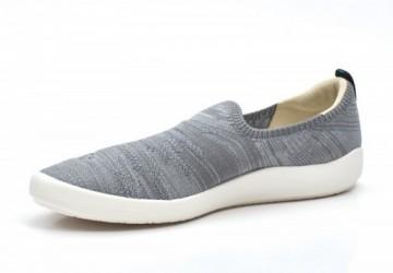 極簡平口休閒鞋-沿岸浪花(浪花灰)