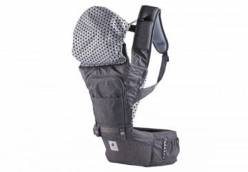 POGNAE NO.5 超輕量機能坐墊型揹巾