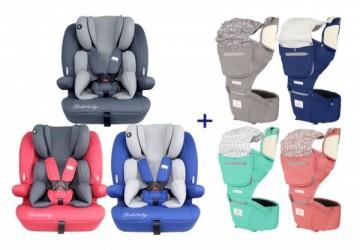 YoDa 成長型安全座椅+成長型座椅式揹帶