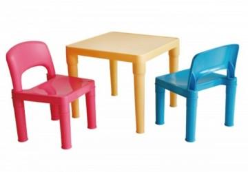 兒童桌椅組-小王子色