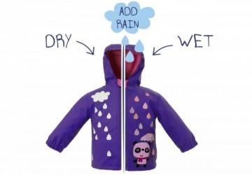 【展場0碼出清5折】英國Squid Kids倫敦雨快樂變色外套