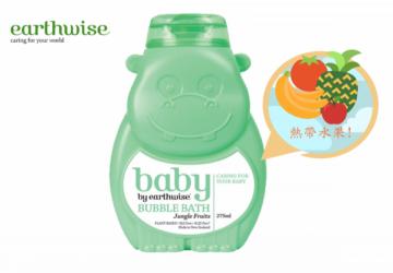 紐西蘭 大地本植 Earthwise寶寶熱帶水果沐浴泡泡露