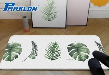 【PARKLON】韓國帕龍 - 雙面多用途長地墊 -【綠葉】廚房墊/走道墊
