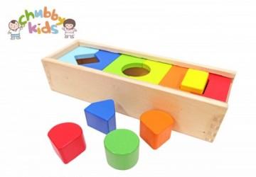 早教玩具-形狀認知積木