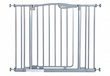 雙向自動回彈上鎖安全嬰幼兒鐵門欄