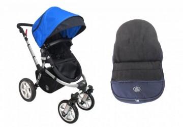 【MIT台灣製】DOIS美式越野 四輪多功能雙向嬰兒車全配(加贈寶寶睡袋&四樣好禮)