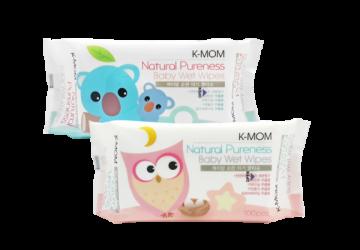 有機自然幼兒濕紙巾-基本款(100抽)