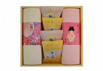 日式和果子彌月禮盒-女(三排裝)