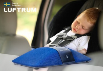瑞典LUFTRUM可攜式智能空氣清淨機C401A-瑞典藍
