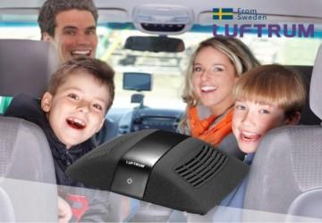 瑞典LUFTRUM可攜式空氣清淨機C401-曜石黑