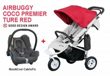 AIRBUGGY COCO PREMIER 純真紅推車