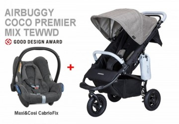 AIRBUGGY COCO PREMIER 經典斜紋推車