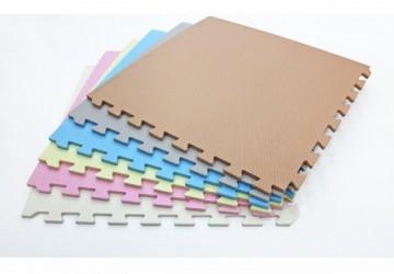 1公分菱形紋素色巧拼地墊