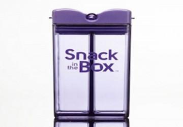 加拿大snack in the box 兒童零食攜帶盒(355m)紫