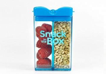 加拿大snack in the box 兒童零食攜帶盒(355ml)藍