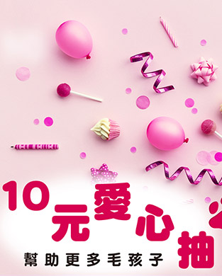10元愛心抽