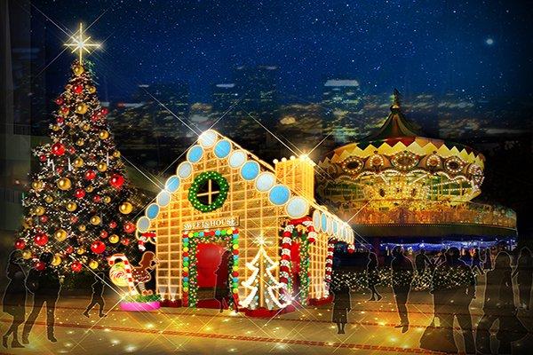 美到讓人不想離開 日本十大聖誕燈節