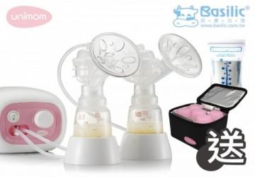 Unimom 醫療級電動吸乳器 (送超值保冷包+集乳瓶組)