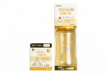 Mini Care PPSU寬口徑葫蘆大奶瓶360ml