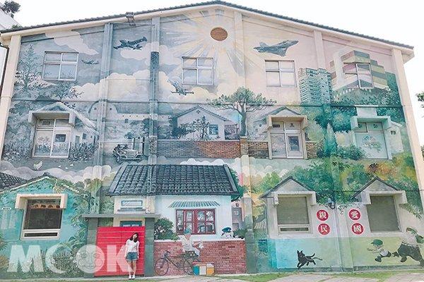 台灣也有哥本哈根景色 全台六大彩繪建築