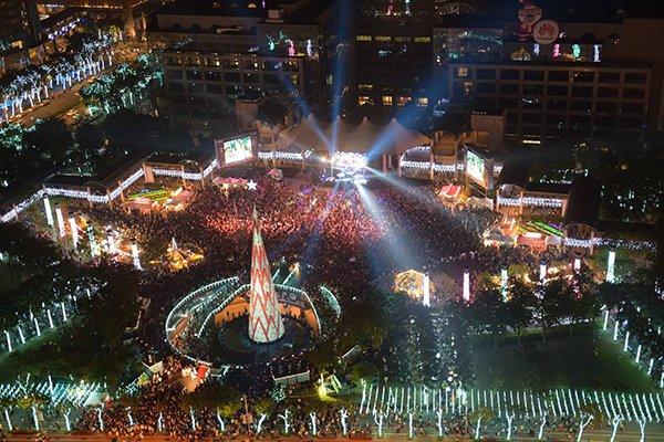 全球最驚豔聖誕樹 新北耶誕城唯一入選